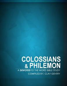 Colossians-Philemon Cover