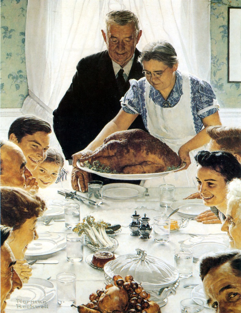 rockwell thanksgiving love