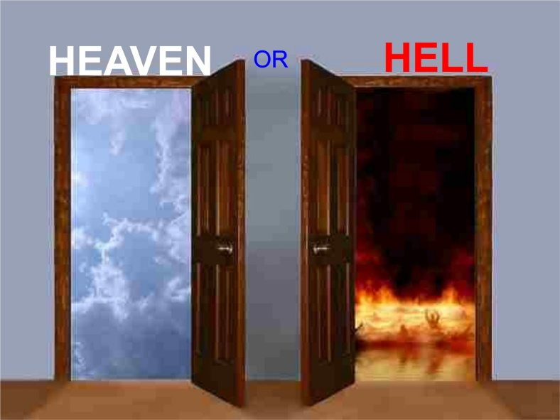 Heaven or Hell Doors